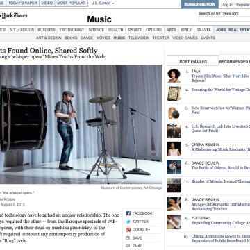 NYT whisper opera