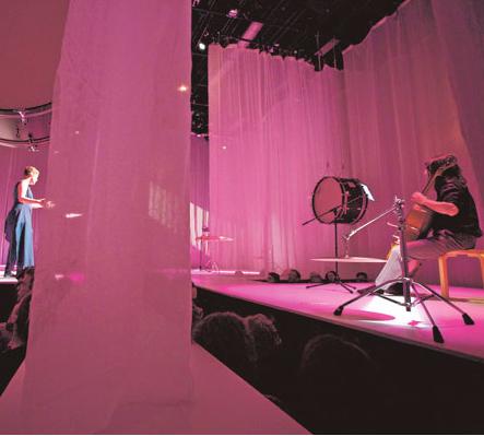 Tony Arnold and KIvie Cahn-Lipman in Whisper Opera